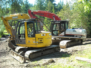 Excavator for Rent-U-Dig!!