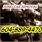 BURNABY JUNK CAR REMOVAL BURNABY B.C  604-889-4470 CAR REYCLING